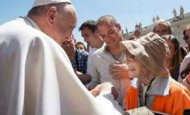 La abuela que caminó de Tucumán a Luján se reunió con el papa Francisco