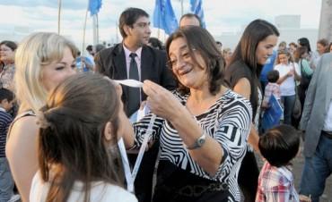 Lucía entregó las viviendas del barrio Centro de Ingenieros