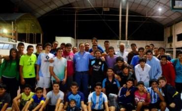 Valioso aporte al Club Ateneo Mariano Moreno