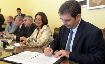 El Gobierno firmó acuerdo con Minera del Altiplano S.A.