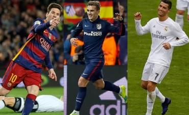 Tras el 8-0 de Barcelona y el triunfo de Atlético de Madrid, así sigue la Liga de España