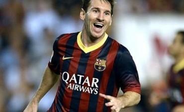 Con gol de Messi y un concierto de Suárez, Barcelona apabulló al Gijón