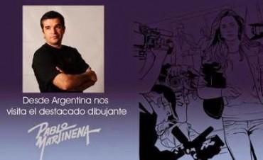Pablo Martinena en la Feria Internacional del Libro