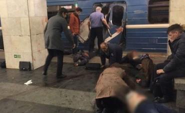 Atentado en el Metro de San Petersburgo: Al menos 10 muertos y decenas de heridos