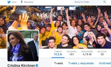 Cristina apuntó a Macri por su procesamiento en la causa Los Sauces