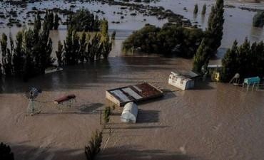 Comodoro Rivadavia: la lluvia no cesa y el temporal se cobró una víctima