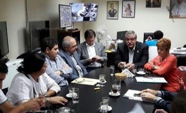 El director de OSEP recibió a representantes de las farmacias provinciales