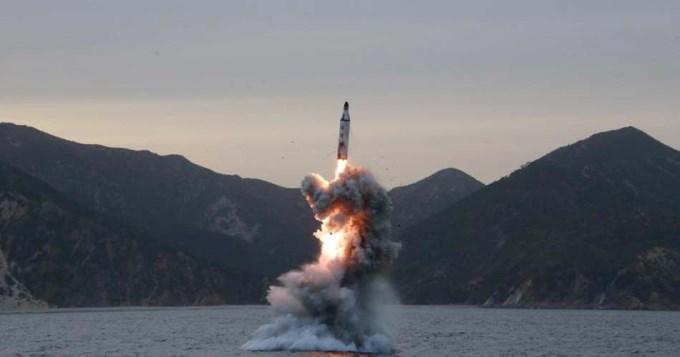 Corea del Norte cumplió su amenaza y lanzó otro misil