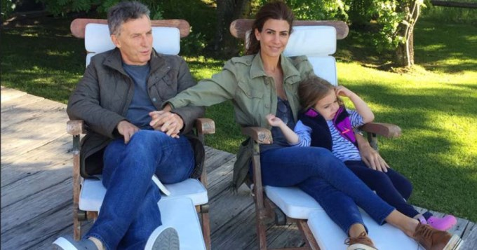 Macri viajó a Tandil con su familia para la Semana Santa