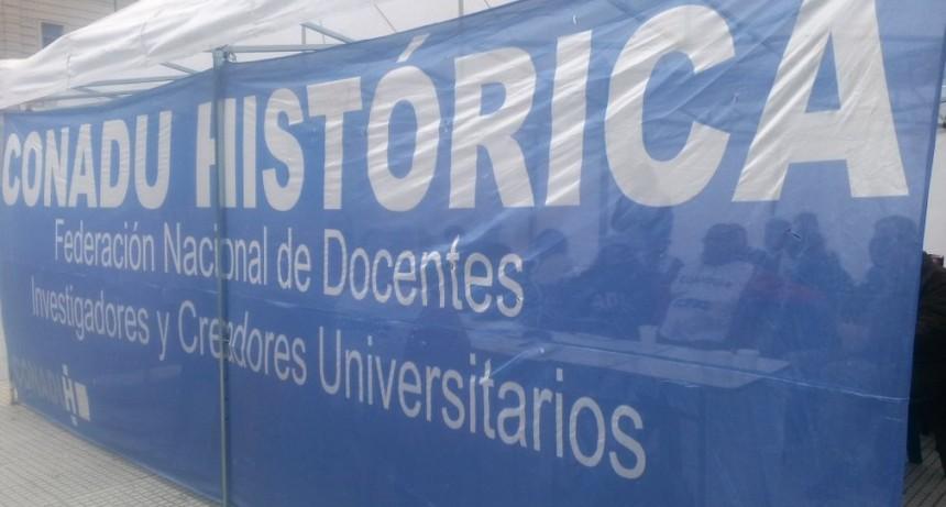 La Conadu Histórica va a paro por 48 horas