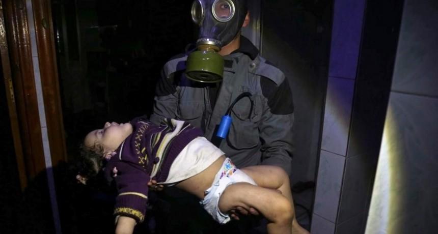 Siria: más de 70 muertos por presunto ataque químico