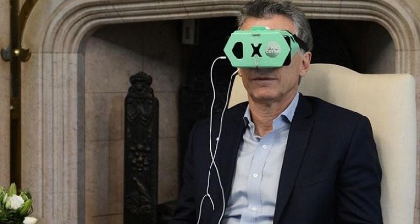 Macri recibió a cordobeses que crearon aplicación para dejar de fumar