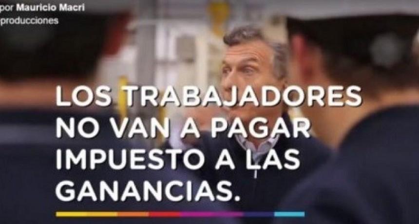 Con Macri, aumentó 78,8% la cantidad de trabajadores que pagan Ganancias