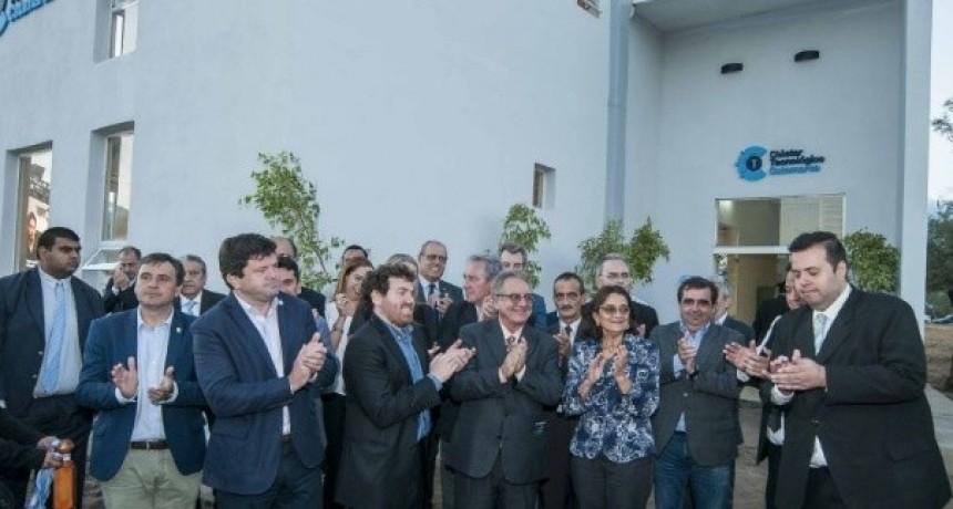 Corpacci inauguró el clúster tecnológico en el CAPE