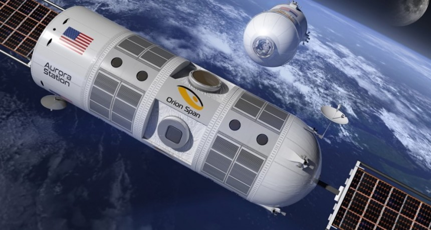 El primer hotel para turistas en el espacio ya tiene fecha de despegue