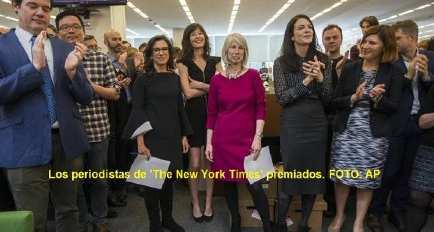 Los Pulitzer premian las investigaciones sobre el acoso sexual y la trama rusa de Trump