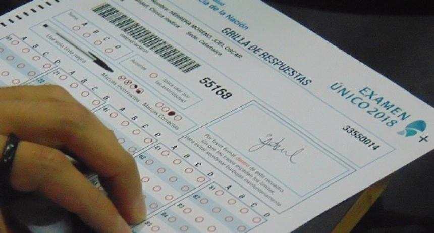 Residencias médicas 2018 Examenes
