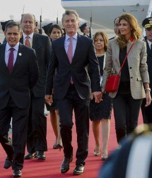 Macri está en Perú, con Venezuela en la agenda