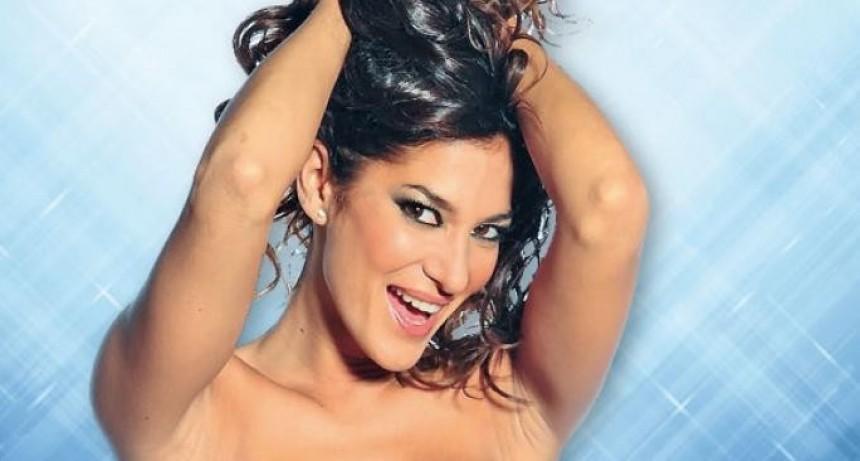 Silvina Escudero se desnudó en una playa y volvió loco a más de uno