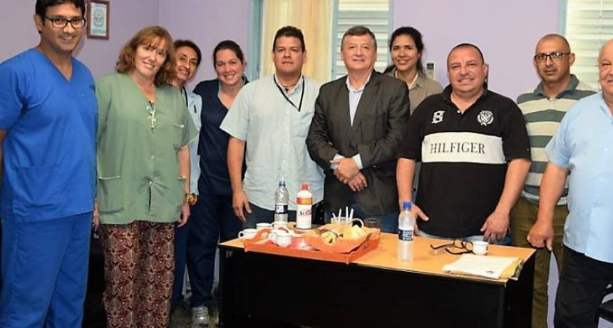 Matrimonio de médicos venezolanos se suma al hospital Dr. Liborio Forte