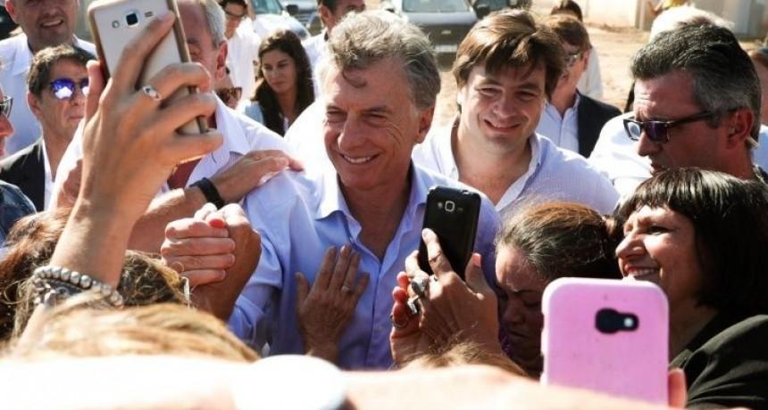 """Macri: """"Estoy con cada argentino, sé lo que está pasando, lo que cuesta llegar a fin de mes"""""""