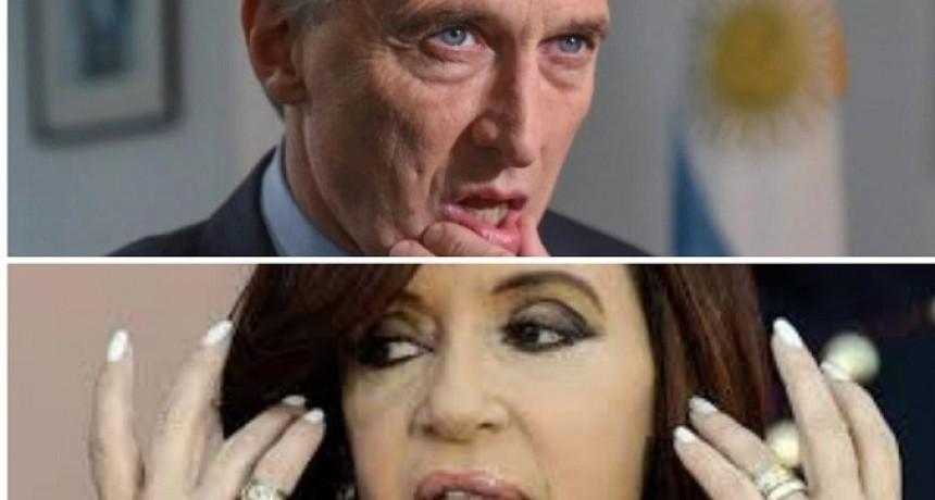 Macri y Cristina preocupados por las elecciones de Chubut y Río Negro