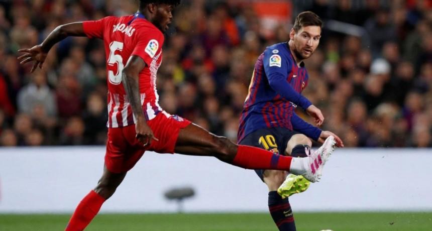 Barcelona le ganó al Atlético de Madrid y se encamina a conquistar otra Liga