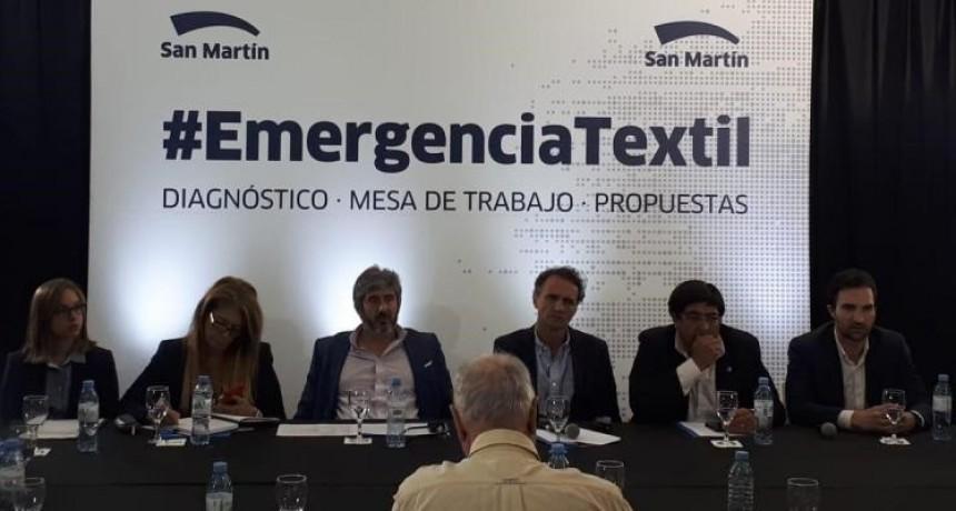 Producción participó de la Mesa de Emergencia Textil Argentina