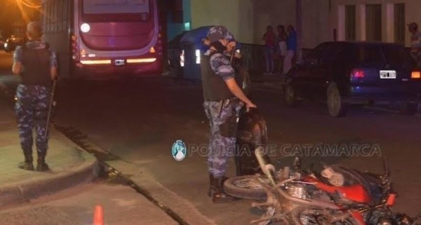 Accidente fatal en la ciudad: murió un motociclista