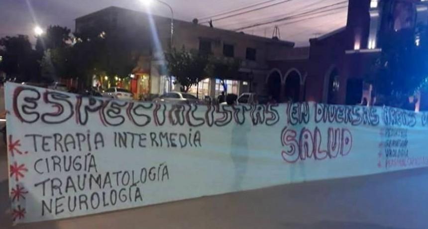Figueroa Castellanos viaja al lugar: Médico y ambulancia para Tinogasta