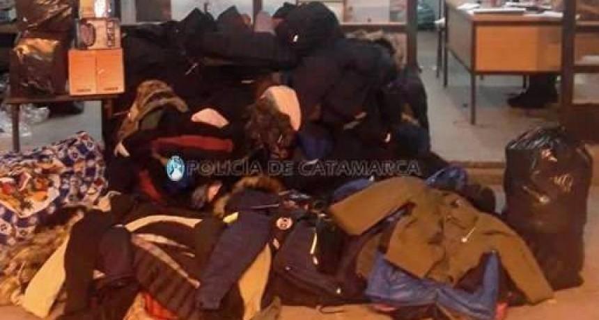 Incautaron mercadería trucha valuada en 500 mil pesos
