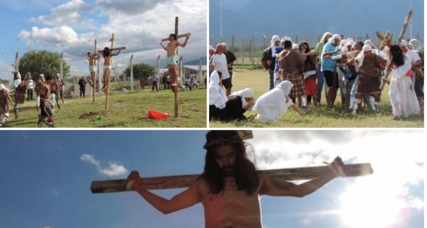 Por primera vez se realizó un Vía Crucis Viviente en la cárcel