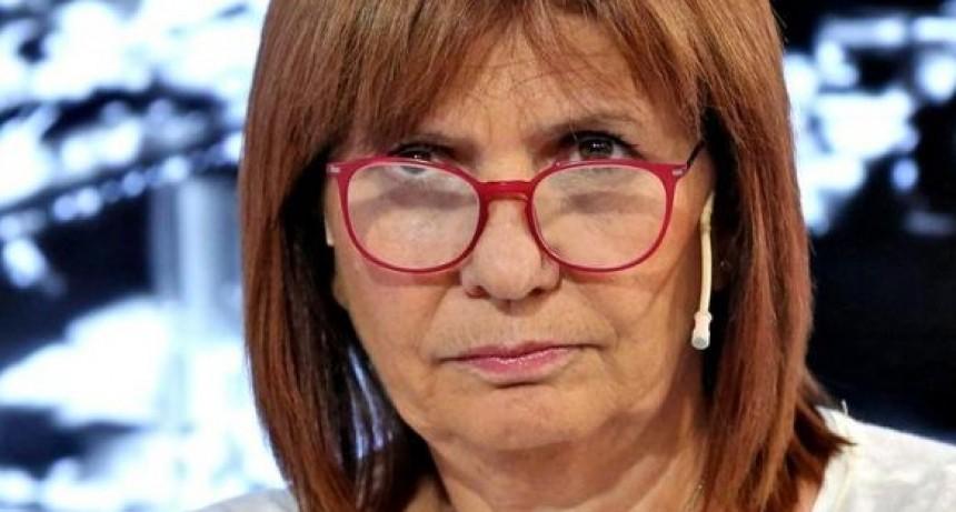 Patricia Bullrich: Los Moyano son los típicos señores que creen que la Argentina es de ellos