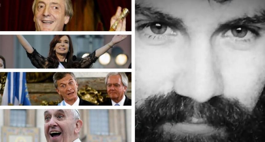 Canciones de Santiago Maldonado: insultos a Néstor y Cristina Kirchner, Macri,los bolsos de López y el Papa