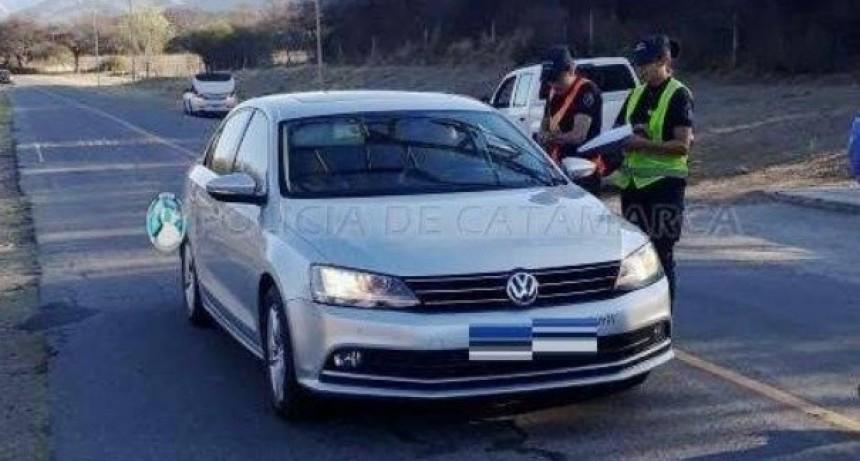 Secuestran 239 vehículos en los puestos camineros