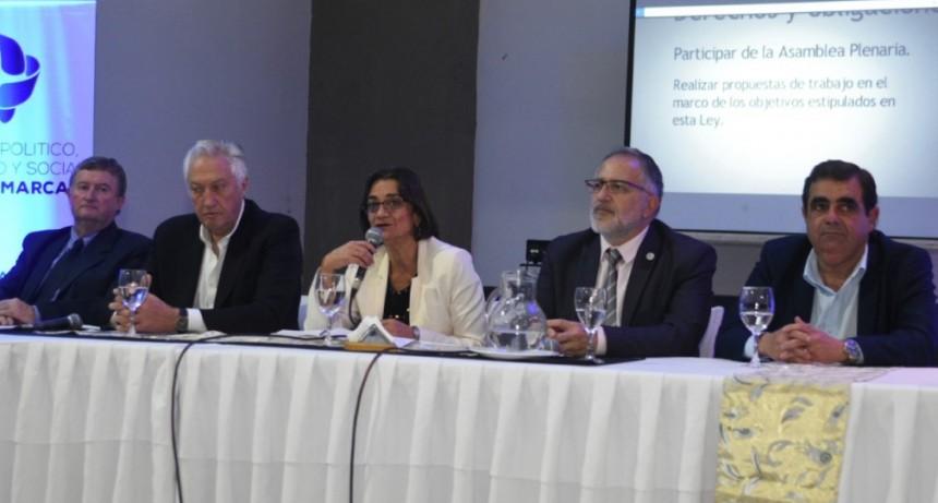 Corpacci:  volvió a insistir con la necesidad de reformar la Constitución provincial