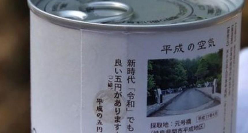 Insólito: venden aire enlatado por menos de diez dólares