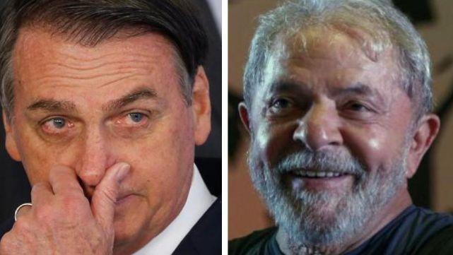 Bolsonaro trató de borracho a Lula
