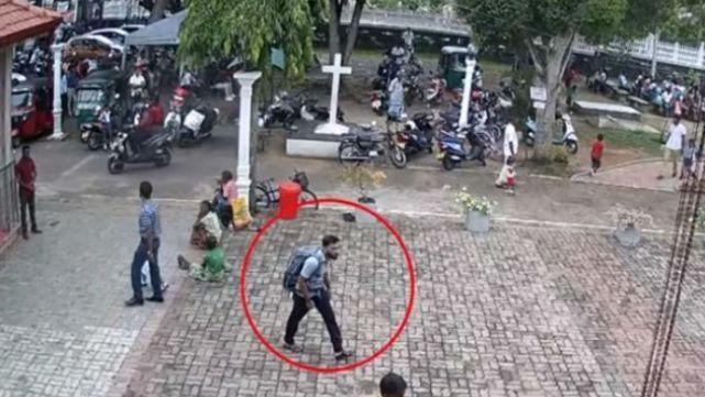 Nuevo video de las explosiones mortales en Sri Lanka