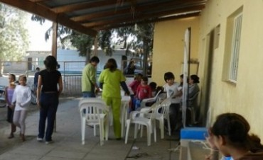 Municipio en tu Barrio visita el B° Santa Lucía Norte