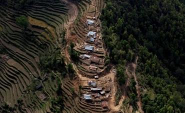 La destrucción de Nepal tras el terremoto, desde el aire