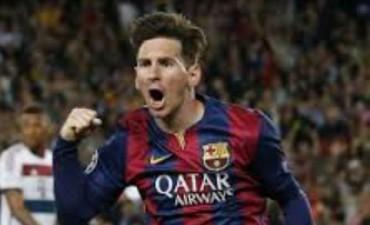 Lionel Messi dejan a Barcelona con un pie en la final