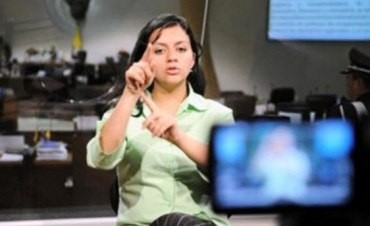Jujuy: Los canales de TV  implementarán el lenguaje de señas