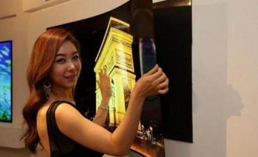 LG presentó una pantalla de TV de sólo 1 milímetro de espesor