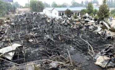 CHINA : Al menos 12 detenidos por incendio en Geriátrico que dejó 38 muertos