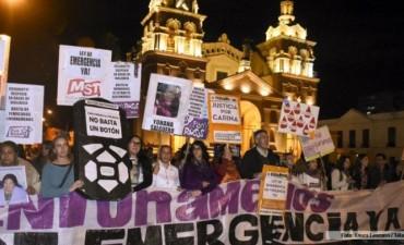 Realizaron una marcha en Córdoba contra la violencia de género
