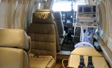 Por que se contratan servicios de aviones sanitarios privados ?