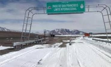 Se rehabilitó el tránsito por el Paso de San Francisco