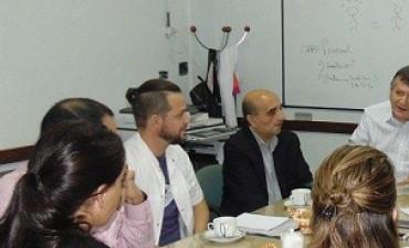 Jornada de trabajo con profecionales del Laboratorio Nacional Malbrán y de Epidemiología de Nación