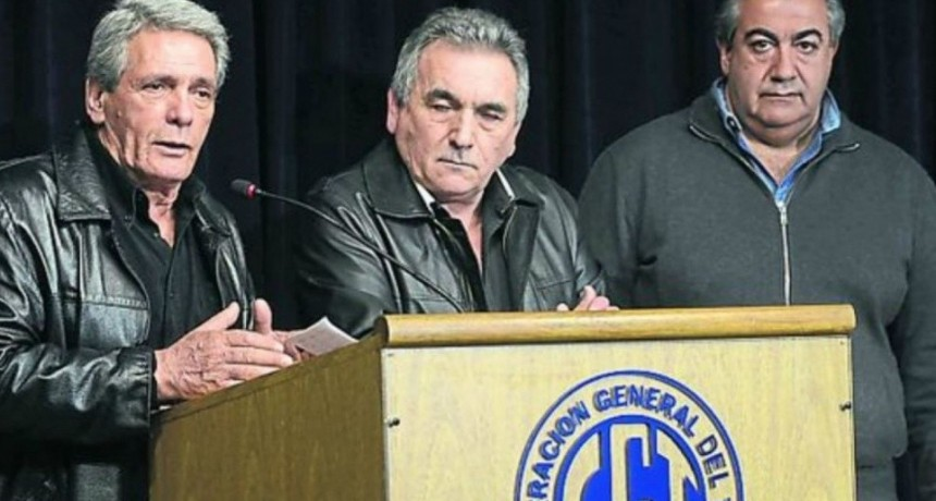 La CGT inicia su propio diálogo político y cancela la posibilidad de un paro